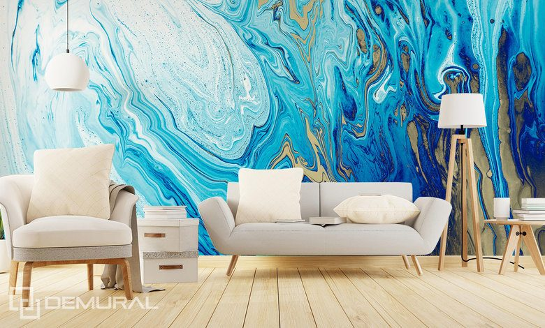 the poetry of the azure abstraction wallpaper mural photo wallpapers demural