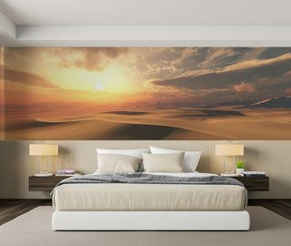 sunny desert interior climate landscapes wallpaper mural photo wallpapers demural