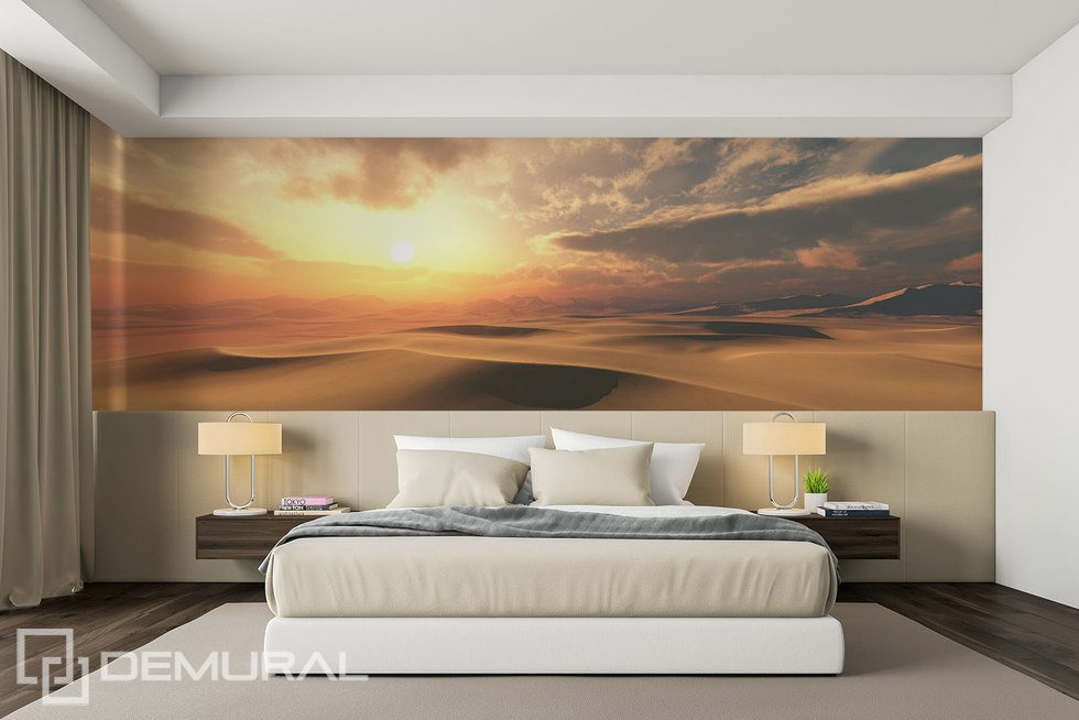 Sunny, desert interior climate Landscapes wallpaper mural Photo wallpapers Demural