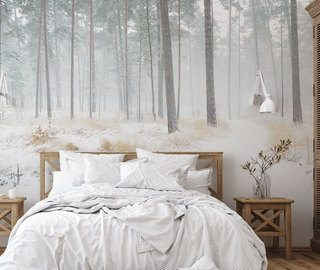 a forest climate that relaxes forest wallpaper mural photo wallpapers demural