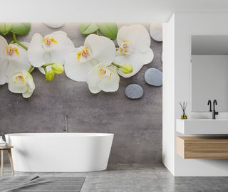 decoration for the spa salon at home enjoy the relaxation bathroom wallpaper mural photo wallpapers demural