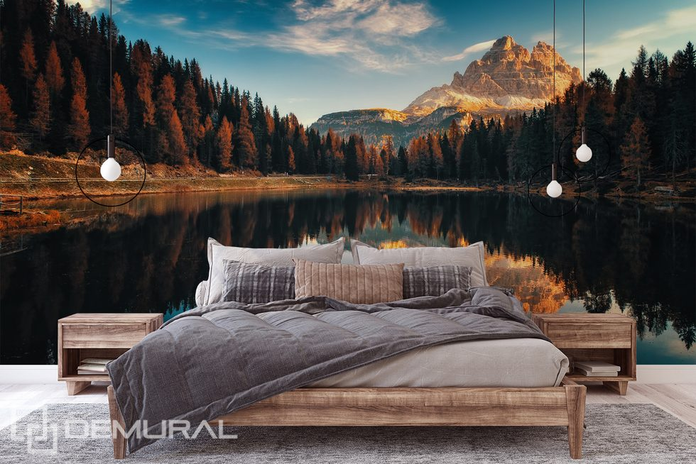 Keep your autumn memories Landscapes wallpaper mural Photo wallpapers Demural