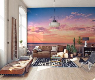 lets meet at sunset sunsets wallpaper mural photo wallpapers demural